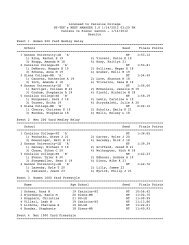 1/14/2012 Results Event 1