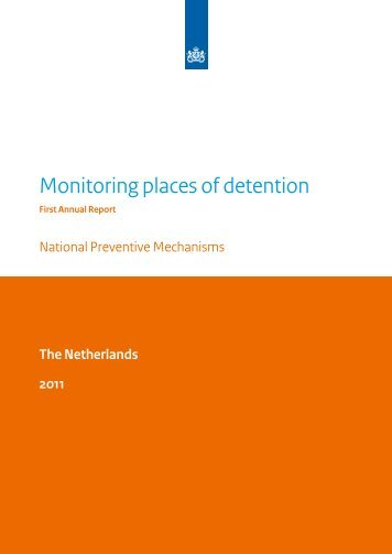 Monitoring places of detention