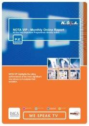 NOTA VIP - Monthly Online Report