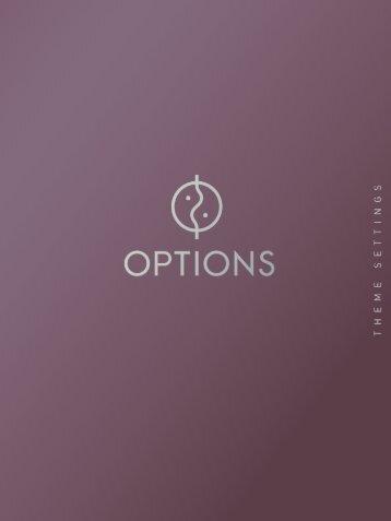 1 - Options