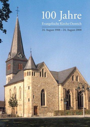 Jubilaeumsheft 08.indd - Ev. Kirchengemeinde Oestrich-Dröschede