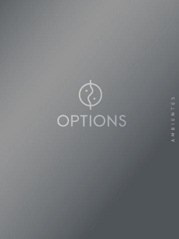 Catálogo Ambientes -  Options