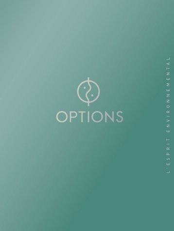 Gérard de Chalain - Options