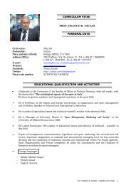 Prof. FRANCO B. ASCANI - fictsfederation.it