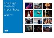 Edinburgh Festivals Impact Study