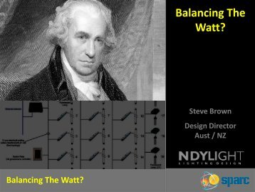 Balancing The Watt?