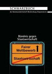 Schwarzbuch der Kommunalwirtschaft in Mecklenburg-Vorpommern