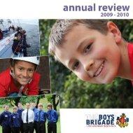 2009/2010 - The Boys' Brigade