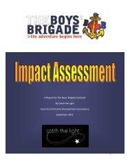 Impact Study Report - The Boys' Brigade