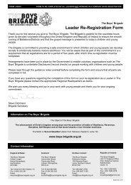 Leader Re-Registration Form