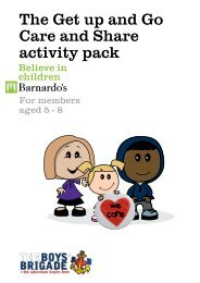 The Get up and Go Care and Share activity pack