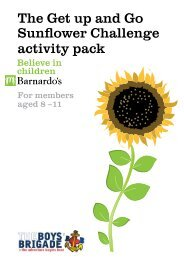 The Get up and Go Sunflower Challenge activity pack