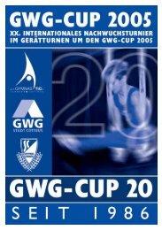 GWG-CUP - Turnier der Meister