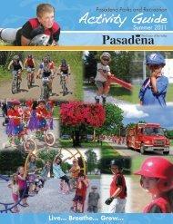 Activity Guide Pasadena