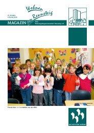 AWG Zeitung 67 - AWG Wohnungsbaugenossenschaft Rennsteig eG