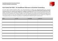 Kein Verkauf der KWG! – Für bezahlbaren Wohnraum in Ginsheim-Gustavsburg