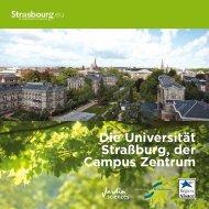 Die Universität Straßburg der Campus Zentrum