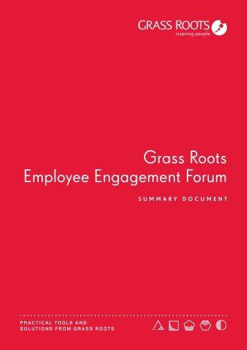 Grass Roots Employee Engagement Forum
