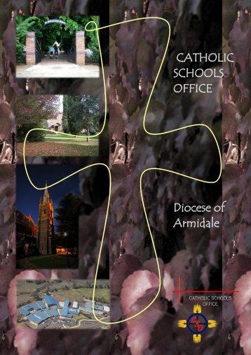 SCHOOLS OFFICE Diocese of Armidale