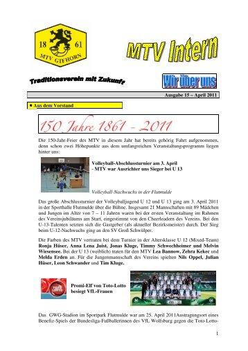 Ausgabe 15 - MTV Gifhorn