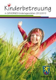 Kinderbetreuung - Stadt Gifhorn