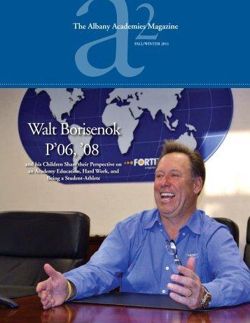 Walt Borisenok P'06 '08
