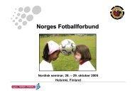 Nordisk seminar 28 29 oktober 2005 Helsinki Finland