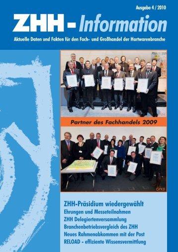 ZHH-Präsidium wiedergewählt - Vertaz