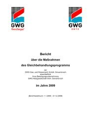 im Jahre 2009 - GWG Grevenbroich GmbH