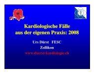 Kardiologische Fälle aus der eigenen Praxis 2008