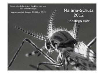 Malaria-Schutz 2012