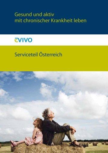 Gesund und aktiv mit chronischer Krankheit leben Serviceteil Österreich