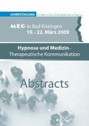 Abstracts - MEG Jahrestagung 2013