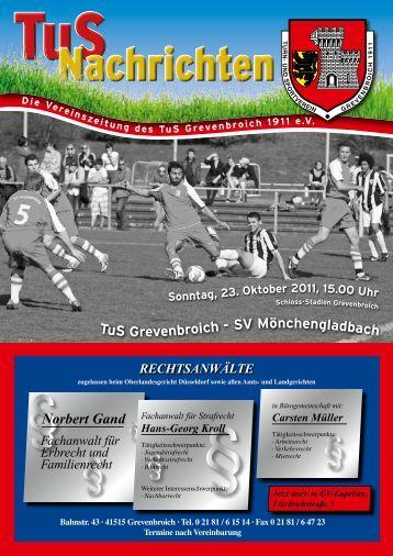 Ausgabe - TuS Grevenbroich