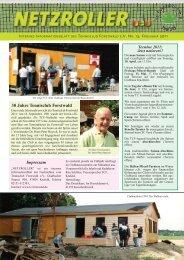 30 Jahre Tennisclub Forstwald - TC Forstwald