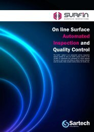 On line Surface Automated Inspection and Quality Control