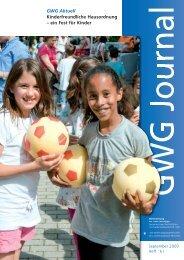GWG Aktuell Kinderfreundliche Hausordnung – ein ... - GWG München