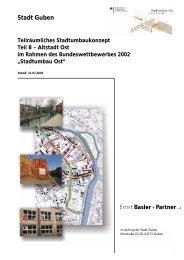 Altstadt Ost im Rahmen des Bundeswettbewerbes 2002 - Guben
