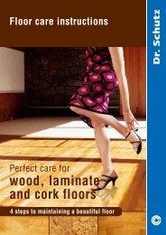 wood laminate and cork floors