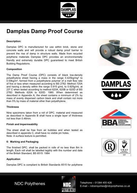 Damplas Damp Proof Course