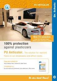 100% protection against plasticizers PU Anticolor