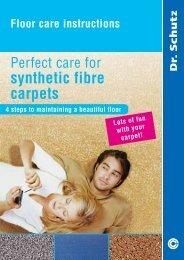 synthetic fibre carpets