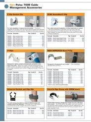 Spit Pulsa 700E Cable Management Accessories