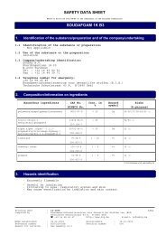 SAFETY DATA SHEET SOUDAFOAM 1K B3