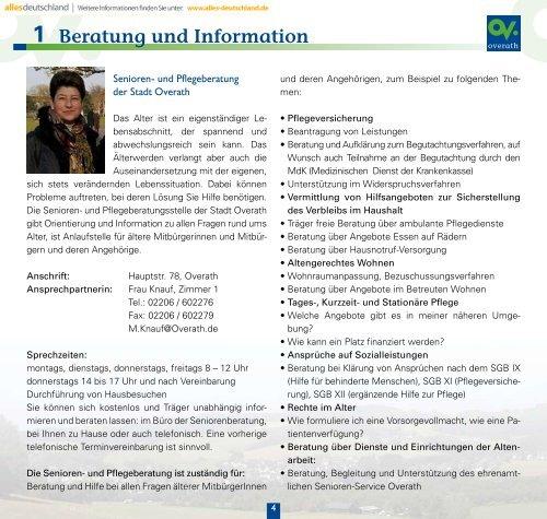 Pflegeversicherung 3 - Sen-Info
