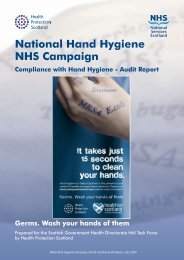 National Hand Hygiene NHS Campaign