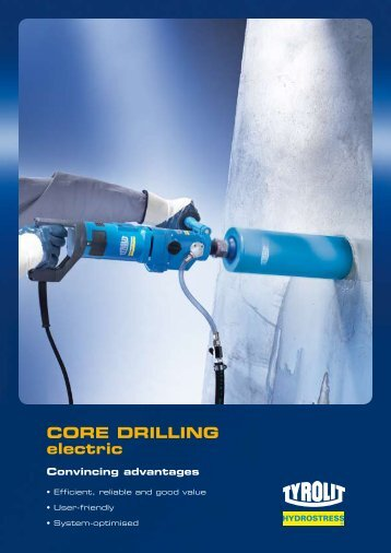 CORE DRILLING electric