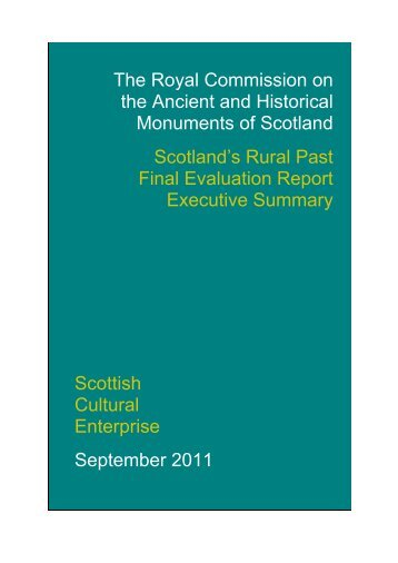 Executive Summary Report - RCAHMS