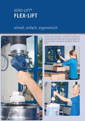 AERO-LIFT FLEX-LIFT Schlauchheber-Prospekt