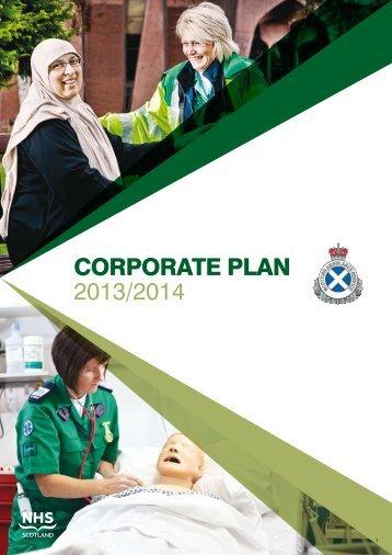 Corporate Plan 2013/2014